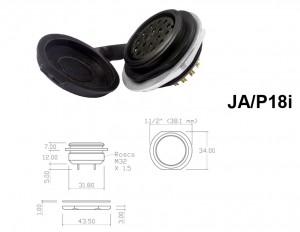 Conector p/ Painel JA/P18i com 18 contatos fêmea