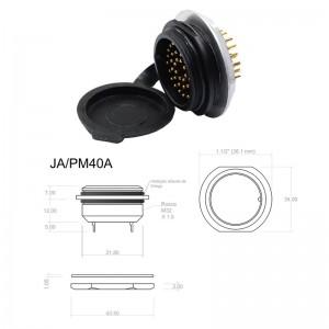 Conector p/ Painel JA/PM40A com 40 contatos macho IP67