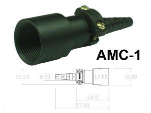 Conector Circular de Aluminio 2 a 4 contatos para cabo AMC-1