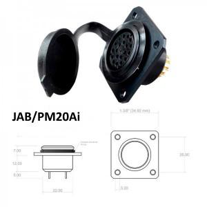 Conector p/ Painel JAB/PM20Ai com 20 contatos fêmea IP67
