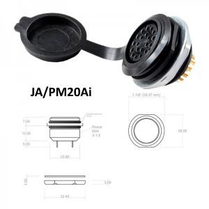 Conector p/ Painel JA/PM20Ai com 20 contatos fêmea IP67
