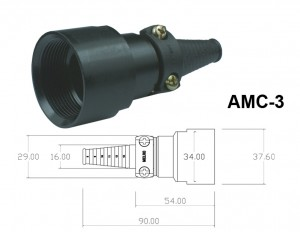 Conector p/ Cabo AMC-3
