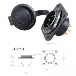 Conector p/ Painel JAB/P8A com 8 contatos macho IP67