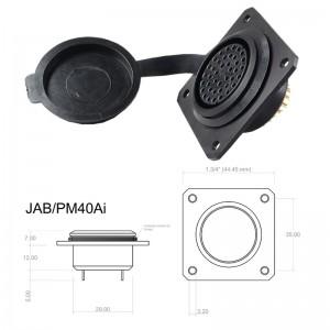 Conector p/ Painel JAB/PM40Ai com 40 contatos fêmea IP67
