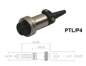Conector Para Cabo - PTL/P4