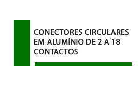 Conector Circular Aluminio 2 a 18 contatos